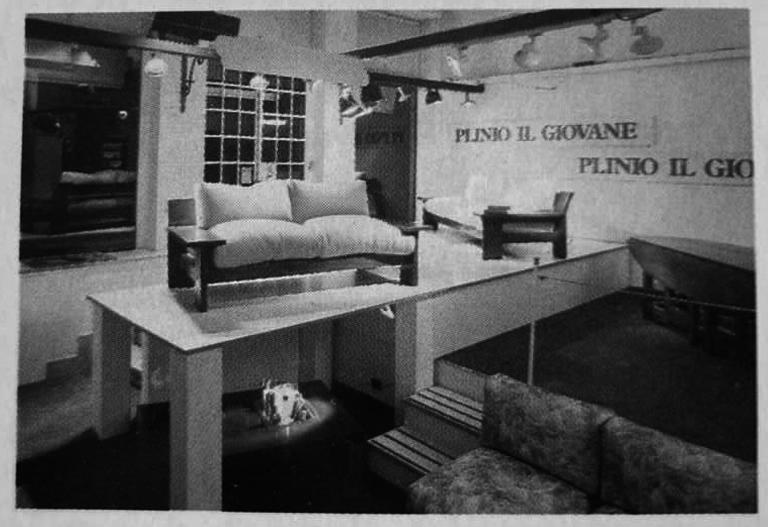 Un allestimento avanguardistico già nel 1975.